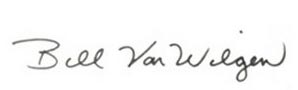 Bill VW signature